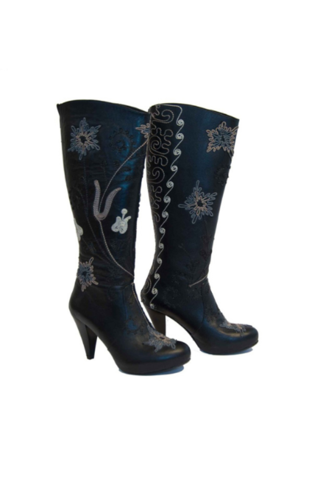Artemis Collections Inc Trixi Tall Embroidered Leather 1 - Main Image