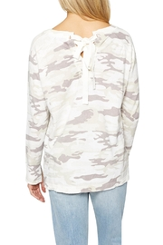 Sanctuary Trixie Camo Sweater - Side cropped