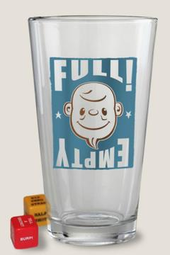 Shoptiques Product: Full/empty Pint Glass