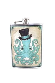 Trixie & Milo Stainless Steel Octopus Flask - Product Mini Image