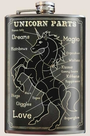 Trixie & Milo Unicorn Parts Flask - Product Mini Image