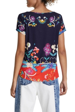 DESIGUAL Tropic India T Shirt - Alternate List Image