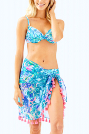 Lilly Pulitzer Tropic Sarong - Front cropped