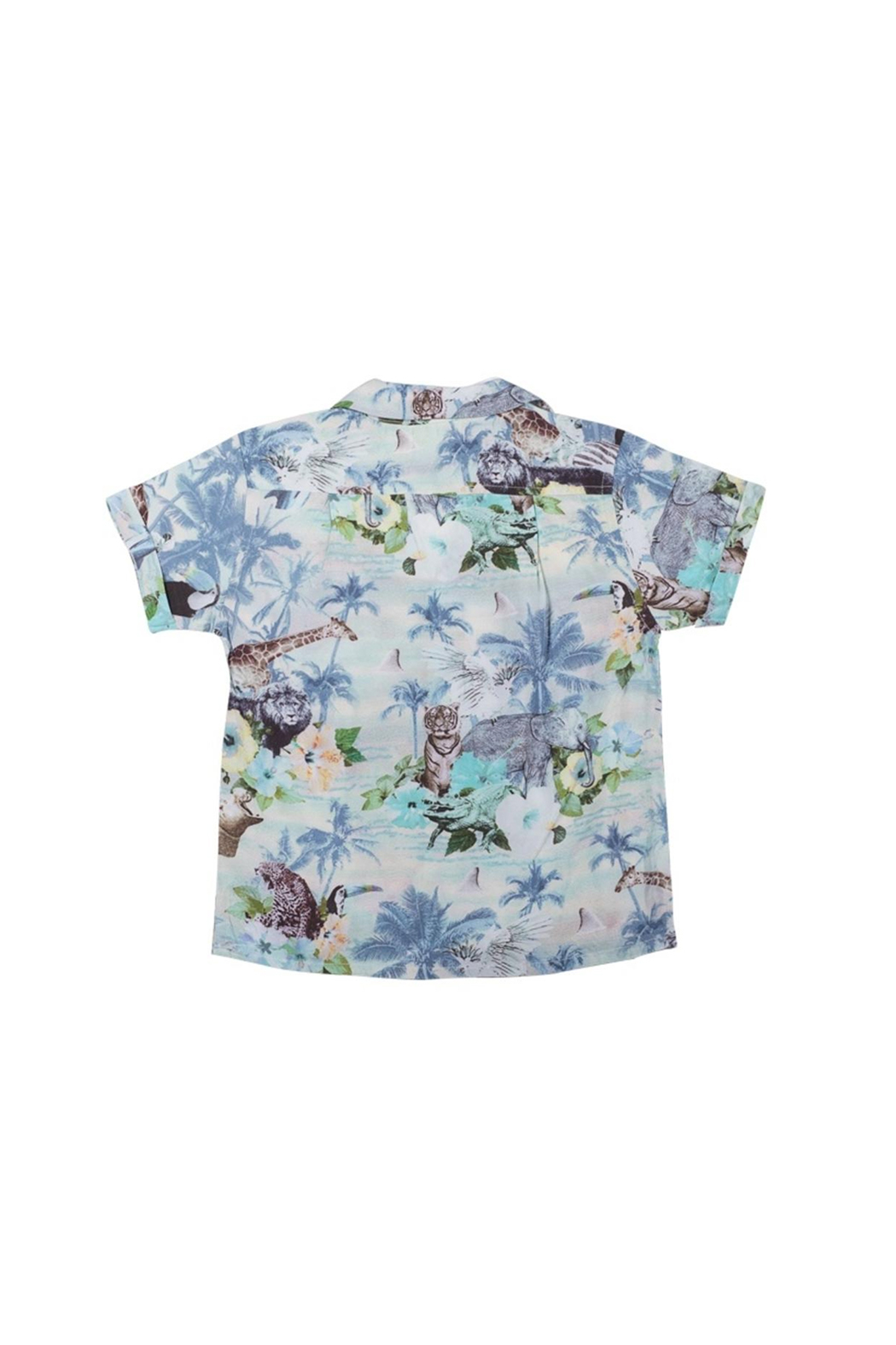 Paper Wings Tropic Short Sleeve Shirt - Front Full Image