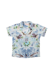 Paper Wings Tropic Short Sleeve Shirt - Front cropped