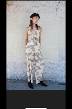 Shoptiques Product: Tropic X-Back Jumpsuit