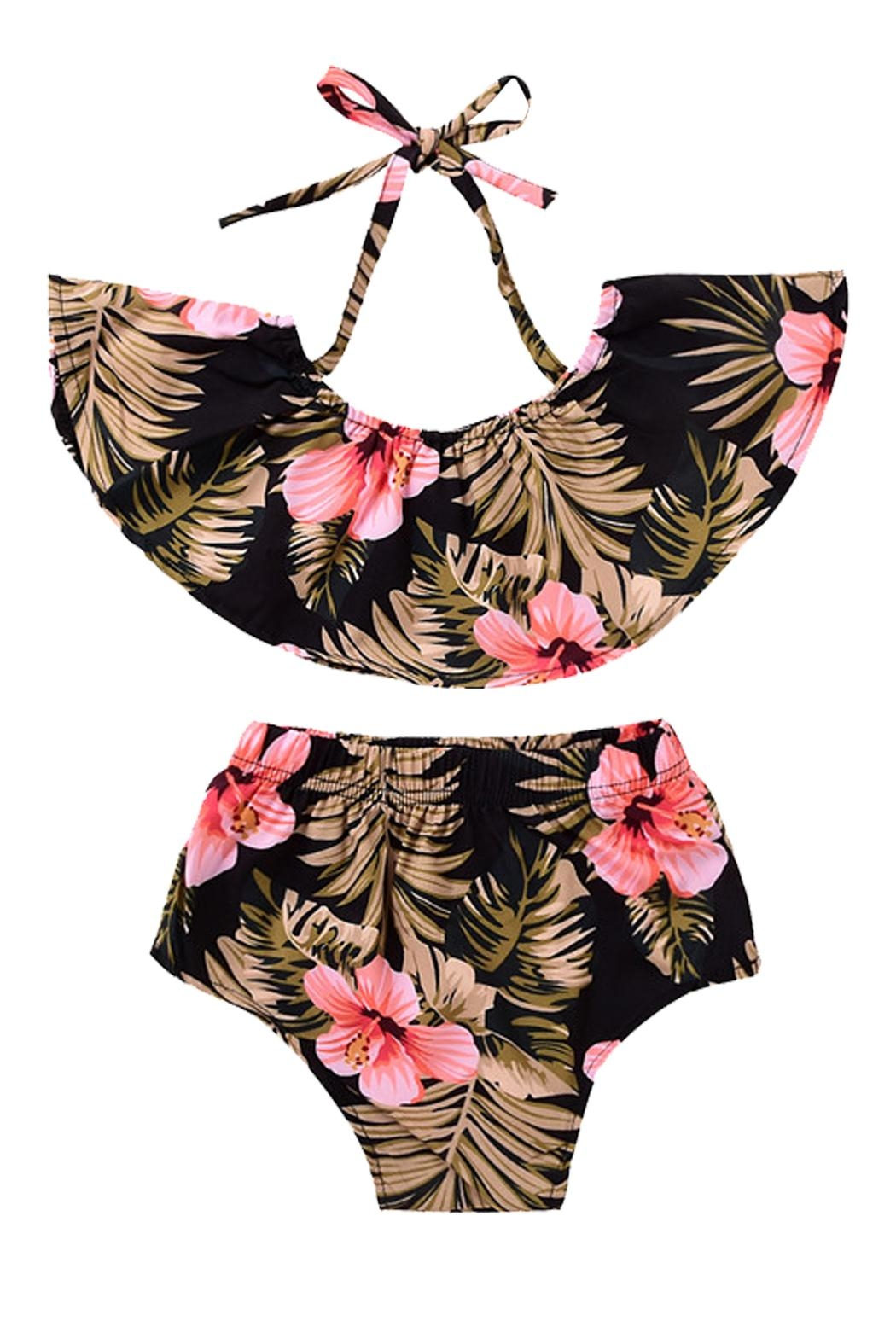 Pickles & Olive's Tropical 2-Piece Playsuit - Main Image