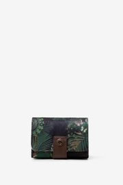 DESIGUAL Tropical Bambola Wallet - Front cropped