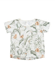 Rylee & Cru Tropical Basic Tee - Product Mini Image
