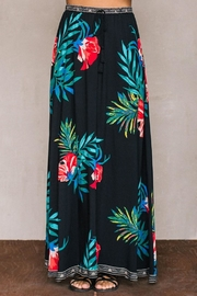 Flying Tomato Tropical Black Skirt - Product Mini Image