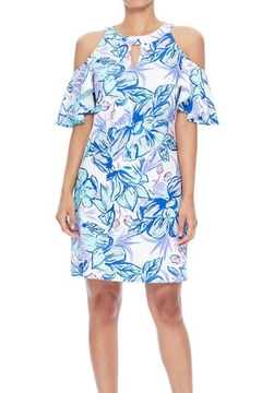 Aryeh Tropical Cold-Shoulder Dress - Product List Image