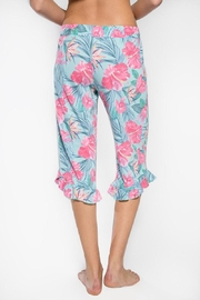 PJ Salvage Tropical Crop Pants - Front full body