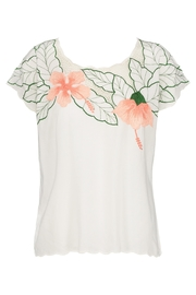 Sugarhill Boutique Tropical Cutwork Top - Product Mini Image