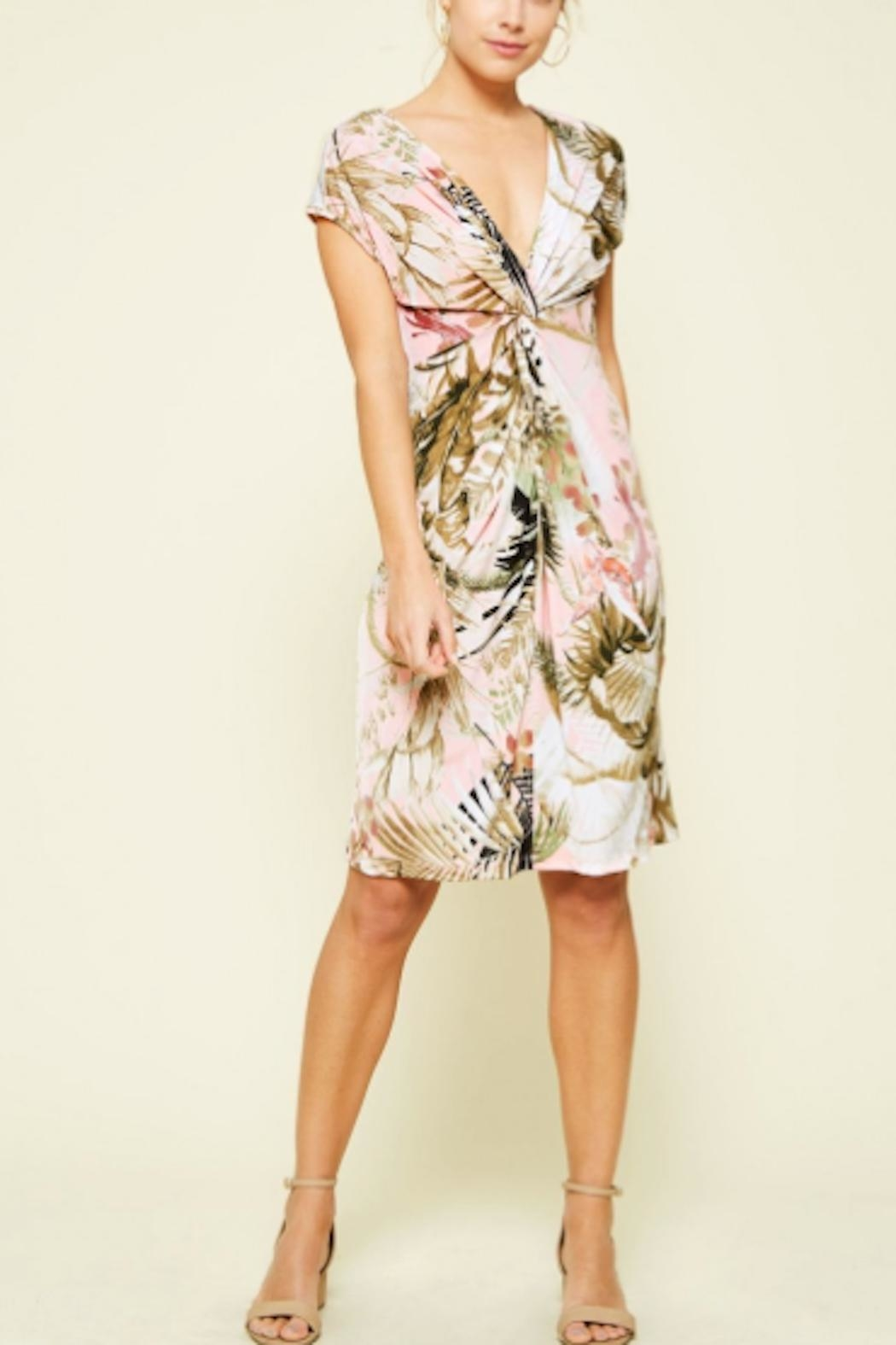 Promesa USA Tropical Dress - Front Cropped Image