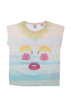 Scotch R'Belle Tropical Face Tee - Product List Image
