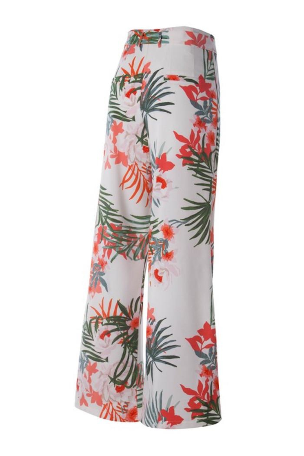 Compendium boutique Tropical Fall Trousers - Front Full Image
