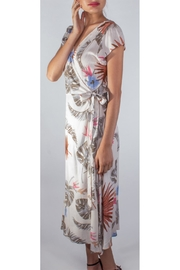 Le Lis Tropical Floral Dress - Front full body