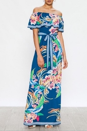 Flying Tomato Tropical Floral Maxi - Product Mini Image