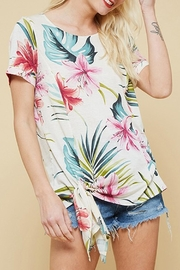 Promesa USA Tropical Floral Tie-Top - Product Mini Image