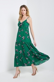 Soprano Tropical Green Dress - Product Mini Image