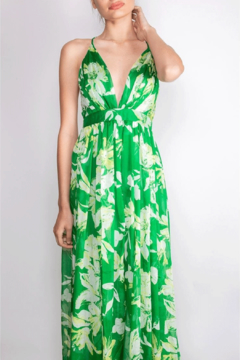 7b41e067 ... luxxel Tropical-Green Enchantress Gown - Product List Placeholder Image