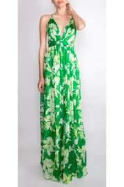 luxxel Tropical-Green Enchantress Gown - Product Mini Image