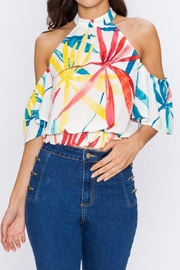 Jealous Tomato Tropical Halter Top - Product Mini Image