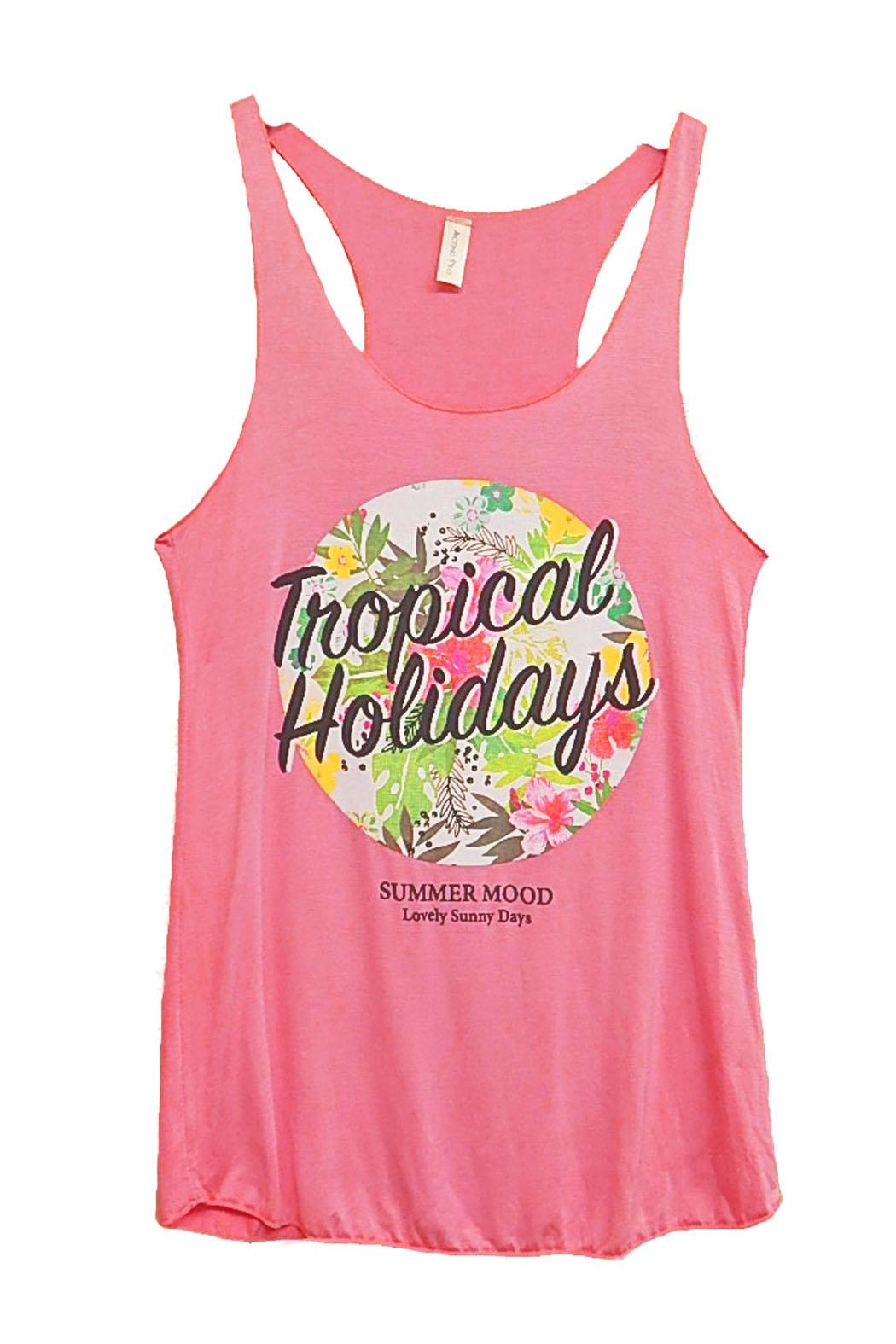 Acting Pro Tropical Holidays Tank - Main Image
