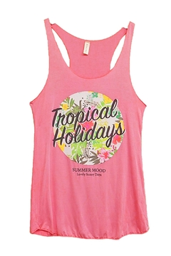 Acting Pro Tropical Holidays Tank - Product List Image