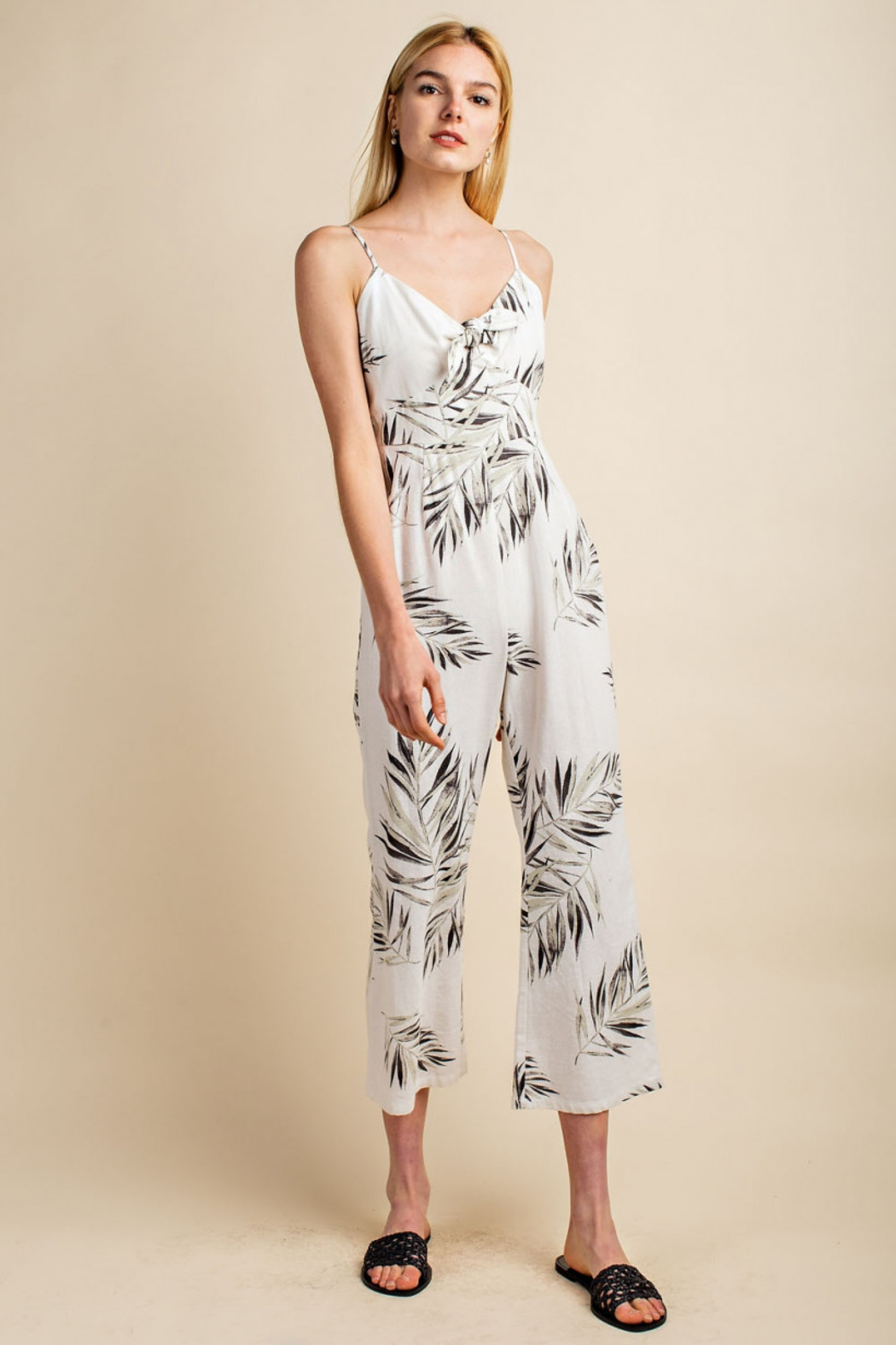 Gilli  Tropical Jumpsuit - Front Cropped Image