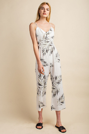 Gilli  Tropical Jumpsuit - Front cropped