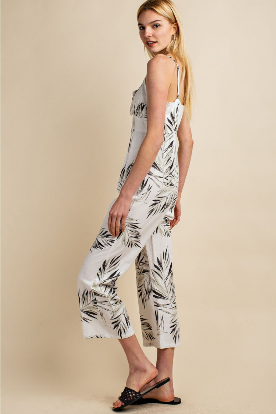 Gilli  Tropical Jumpsuit - Side Cropped Image