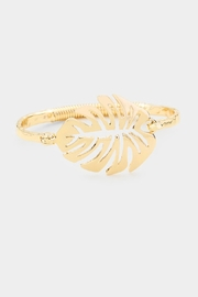 Embellish Tropical Leaf Bracelet - Product Mini Image