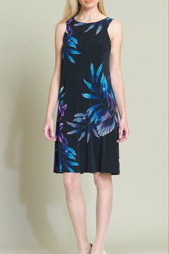 Clara Sunwoo Tropical-Leaf Swing Dress - Product List Image