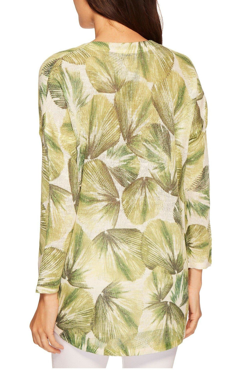 Nally & Millie Tropical Leaf Top - Front Full Image