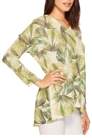 Nally & Millie Tropical Leaf Top - Side cropped