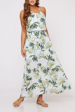 Peach Love California Tropical Maxi Dress - Product List Image
