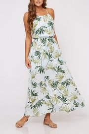 Peach Love California Tropical Maxi Dress - Product Mini Image