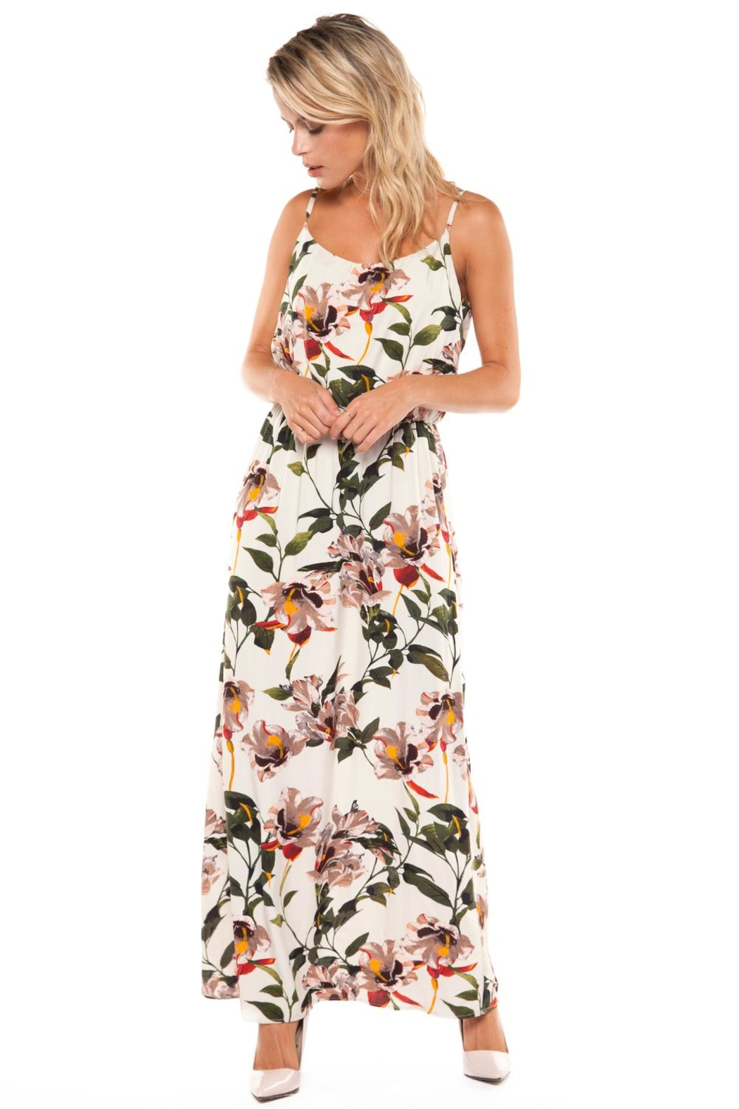 Dex Tropical Maxi Dress - Main Image