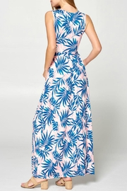 ALB Anchorage Tropical Maxi Dress - Front full body