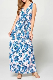 ALB Anchorage Tropical Maxi Dress - Front cropped