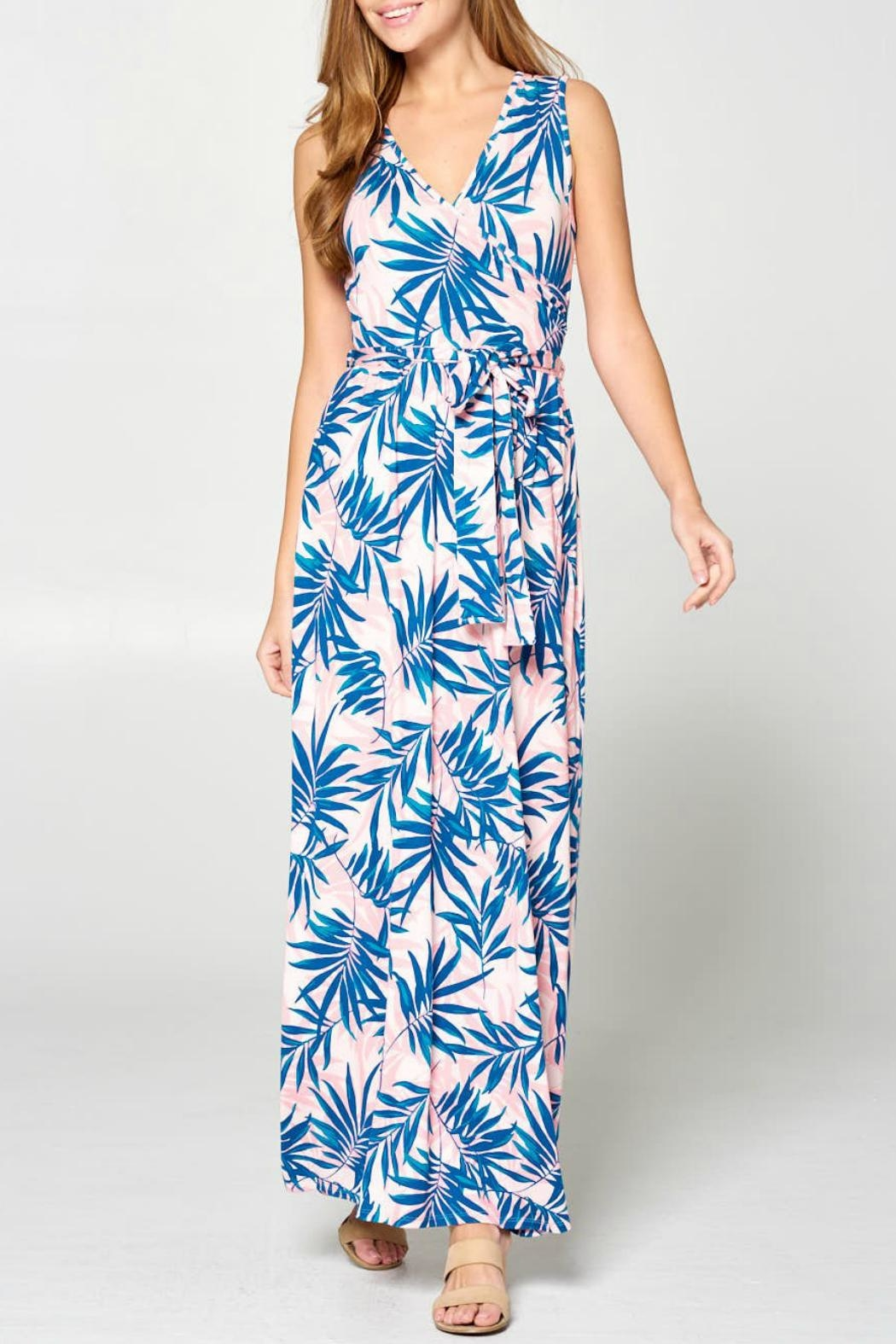 ALB Anchorage Tropical Maxi Dress - Side Cropped Image