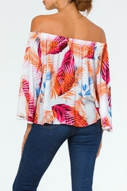 Carmen Tropical Off-Shoulder Top - Side cropped