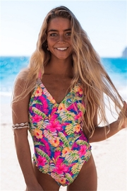THE FREE YOGA Tropical One Piece - Product Mini Image