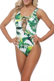 beach joy Tropical One-Piece Suit - Product Mini Image