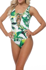 beach joy Tropical One Piece - Front cropped