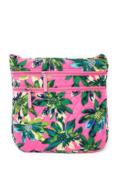 Vera Bradley Tropical Paradise Triple Zip Hipster - Product List Image