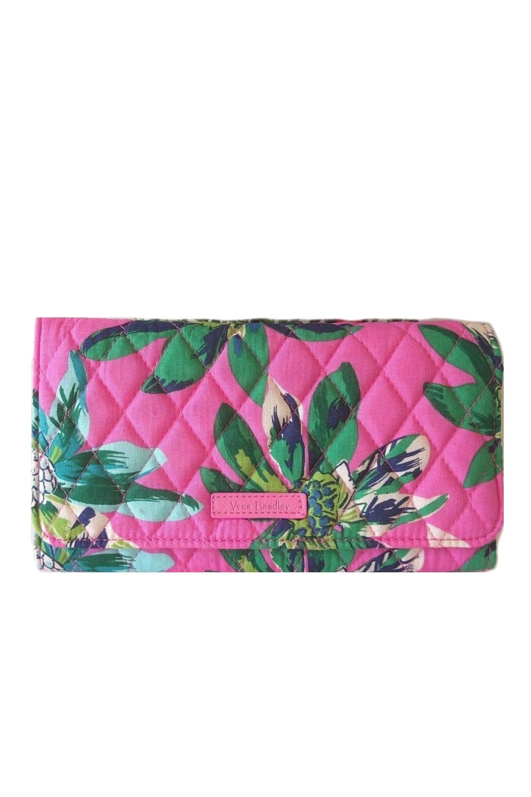 578bf5ea8d Vera Bradley Tropical Paradise Wallet-Crossbody - Front Cropped Image