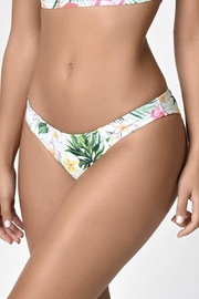 Unique Vintage Tropical Print Bikini-Bottom - Product Mini Image