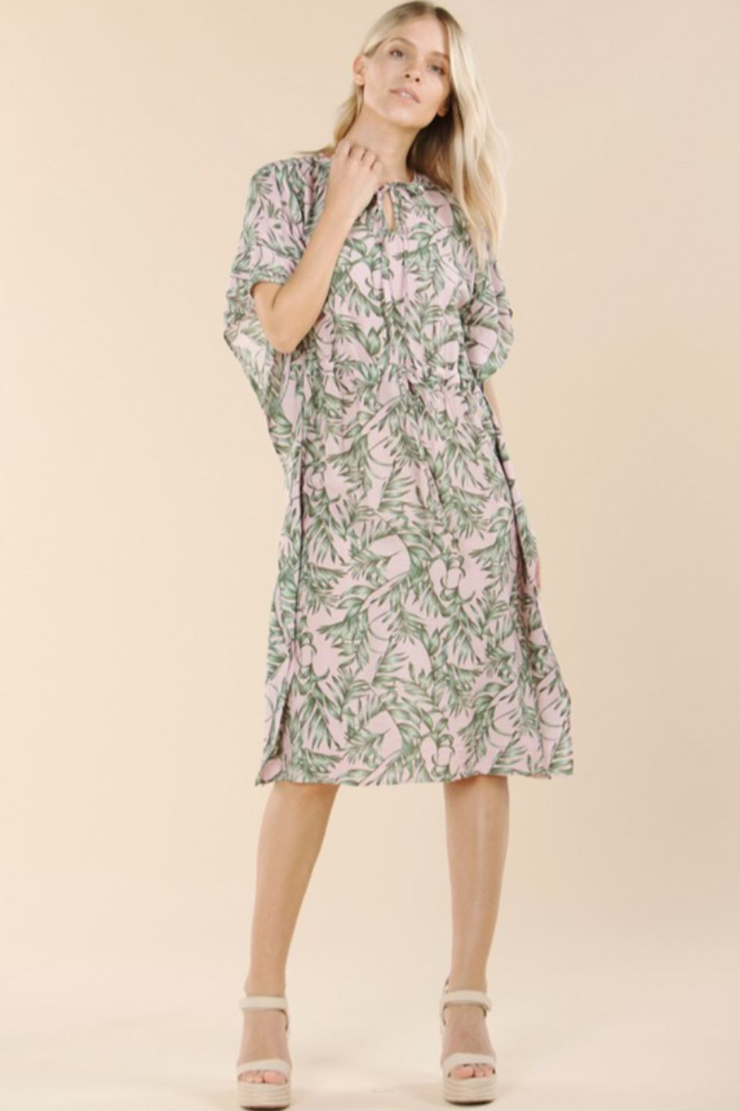 Pinch Tropical Print Coverup - Front Cropped Image